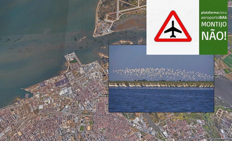Plataforma Cívica Aeroporto BA6-Montijo Não!